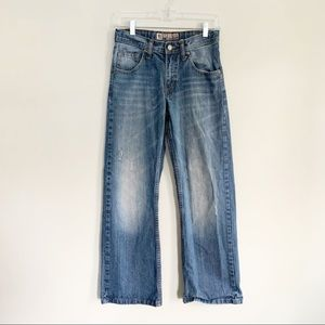 LEE Dungarees Slim Boot Cut Blue Wash Jeans 2